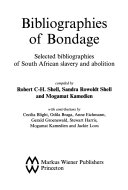 Bibliographies of Bondage