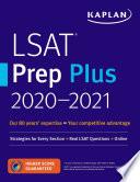Lsat Prep Plus 2020 2021 Book