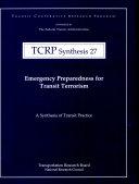 Emergency Preparedness for Transit Terrorism