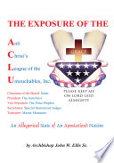 The Exposure of Anti Christ s League of the Untouchables  Inc