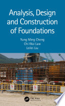 Analysis  Design and Construction of Foundations Book