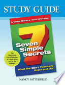 Study Guide 7 Simple Secrets Book