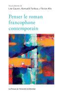 Pdf Penser le roman francophone contemporain Telecharger