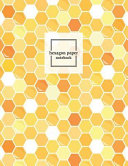 Hexagon Paper Notebook  Hex Grid Paper Graph Science Organic Chemistry Note Book Journal  2 Inch Per Side Small Honeycomb Paper  8 5 X 11