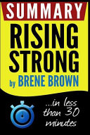 Summary Rising Strong Book