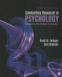Cover of Conducting Research in Psychology