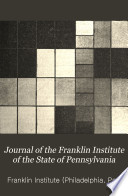 Journal Of The Franklin Institute Of The State Of Pennsylvania