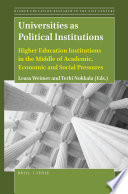 Universities As Political Institutions