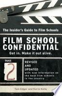 Film School Confidential Book