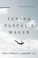 Taking Pascal's Wager Pdf/ePub eBook