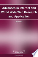 Advances In Internet And World Wide Web Research And Application 2012 Edition