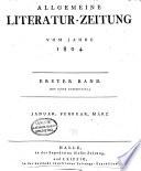 Allgemeine Literatur-Zeitung  , Volume 1