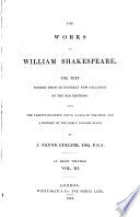 The Works of William Shakespeare: As you like it ; Taming of the shrew ; All's well that ends well ; Twelfth night ; Winter's tale