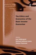 The Ethics and Economics of the Basic Income Guarantee Pdf/ePub eBook