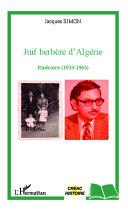 Pdf Juif berbère d'Algérie Telecharger