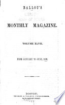Ballou's Dollar Monthly Magazine