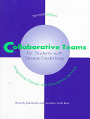 Collaborative Teams for Students with Severe Disabilities