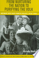 From Nurturing the Nation to Purifying the Volk Book