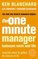 One Minute Manager Balances Work   Life