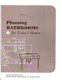 Planning Bathrooms for Today s Homes