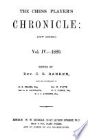 The Chess Player s Chronicle