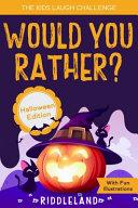 The Kids Laugh Challenge Joke Book   Halloween Edition