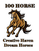 100 Horse Creative Haven Dream Horses
