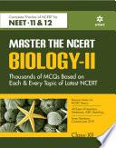 Master The NCERT for NEET Biology   Vol 2 2020