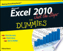 Excel 2010 Just The Steps For Dummies