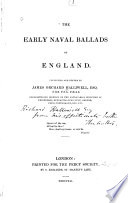 The Early Naval Ballads of England