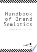 Handbook of Brand Semiotics Book PDF