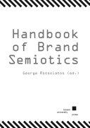 Handbook of Brand Semiotics