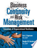 Business Continuity And Risk Management Book PDF