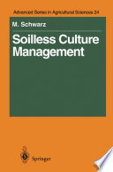 Soilless Culture Management Book