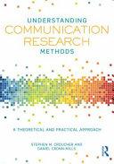 Understanding Communication Research Methods Book
