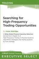 Searching for High Frequency Trading Opportunities