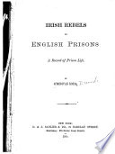 Irish Rebels in English Prisons Book
