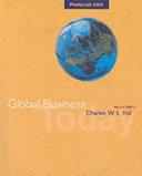 Global Business Today  Postscript 2003