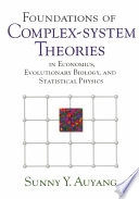 Foundations of Complex system Theories Book