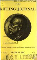 The Kipling Journal  the Organ of the Kipling Society
