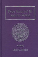 Pope Innocent III and His World