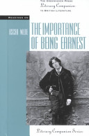 Readings on The Importance of Being Earnest Book