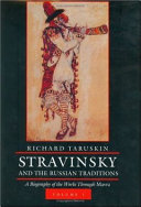 Stravinsky and the Russian Traditions ebook