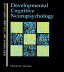 Developmental Cognitive Neuropsychology [Pdf/ePub] eBook
