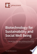 Biotechnology for Sustainability and Social Well Being