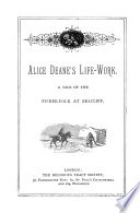 Alice Deane s life work Book