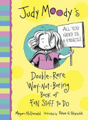 The Judy Moody Double rare Way not boring Book of Fun Stuff to Do