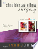 Operative Techniques  Shoulder and Elbow Surgery E BOOK Book