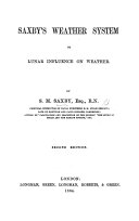 Saxby s Weather System