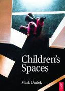 Children's Spaces [Pdf/ePub] eBook